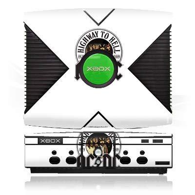 DeinDesign Skin kompatibel mit Microsoft Xbox Folie Sticker ACDC Band Musik