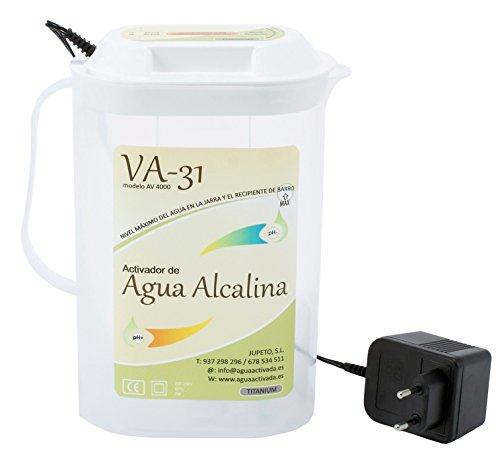 IONIZADOR DE AGUA ALCALINA 1 litro de agua alcalina ionizada pH 9,5 y 0.5 litro de agua ácida pH 4 en 10 min. Sin filtros/recambios