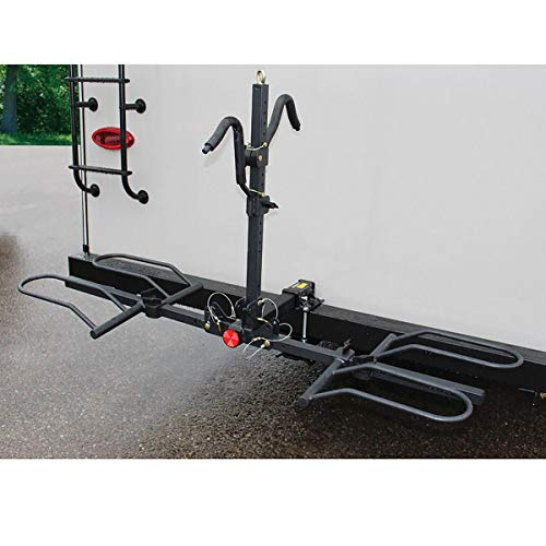 Stromberg Carlson BC-202BA Platform-Style 2-Bike Rack with Bumper Hitch Adapter