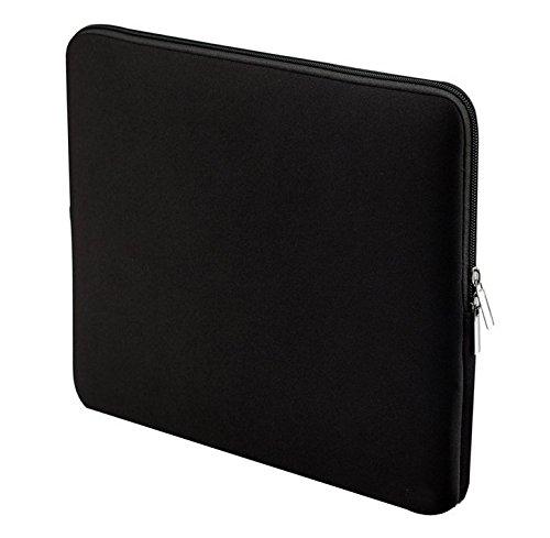 Jlyifan Neopren-Schutzhülle für Microsoft Surface Pro 6 12.3 / Samsung Galaxy Book2 12 / Google Pixel Slate 12.3 / HP Elite x2 13 / iPad Pro 12.9 III (2018) Tablet, stoßfest, Schwarz