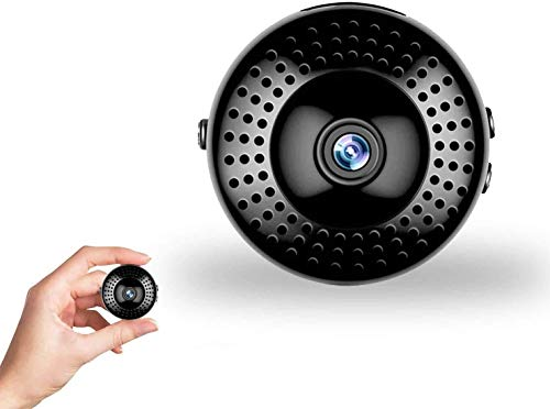 Mini Spy Camera Hidden WiFi Camera Small HD Wireless Security Surveillance Cameras Covert Tiny Nanny Cam with Motion Detection