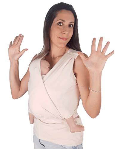 Camiseta de Porteo y Lactancia Crisálida Amarsupiel | Portabebés Premium| Portabebé Ergonómico | Fabricada en UE | Certificado Oekotex | Camiseta Porteadora | Porteo Recién Nacido