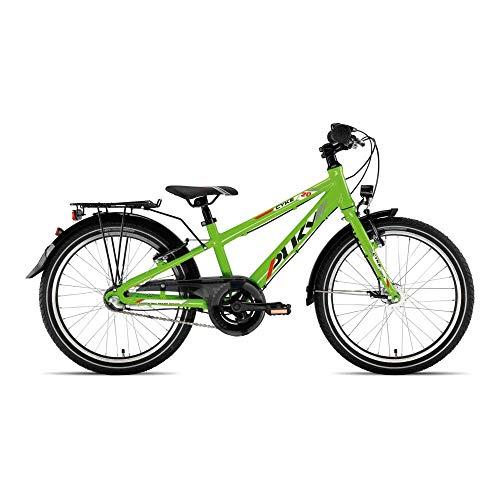 Puky Cyke 20-3 Light Alu Kinder Fahrrad grün