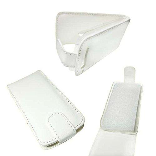 caseroxx Flip Cover für Base Lutea 3, Tasche (Flip Cover in weiß)