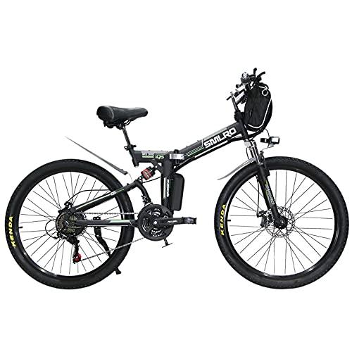 Hyuhome Full-Size Folding Electric Bike