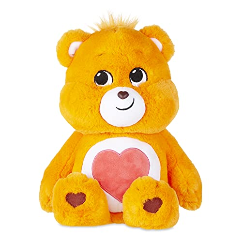 "Basic Fun New 2020 Care Bears - Cuddly 14"" Stuffed Animal - Tenderheart Bear - Soft & Huggable!"