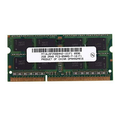 NO BRAND Tuneway DDR3 SO-DIMM DDR3L DDR3 Ram de Memoria de 1.5V para Computadora PortáTil (2GB / 1066)
