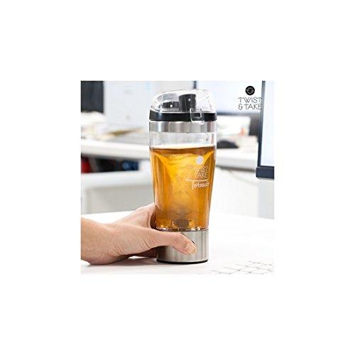 Appetitissime Twist & Take Tornado Vaso mezclador eléctrico, 450 ml, tapa con...