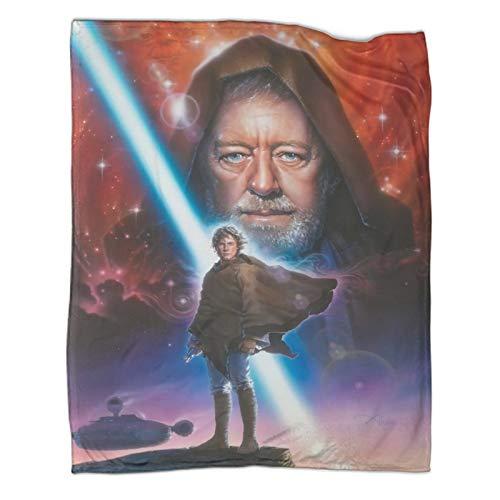 Manta para jóvenes, John Alvin Star Wars para niños, 180 x 230 cm