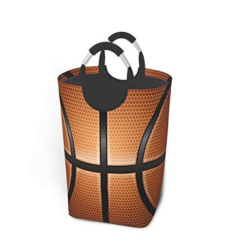 N\A Canasta de lavandería con diseño de Baloncesto de Estilo Vintage con Asas Organizador Grande Plegable Cesto de lavandería para habitación de niños Ropa Sucia Juguetes