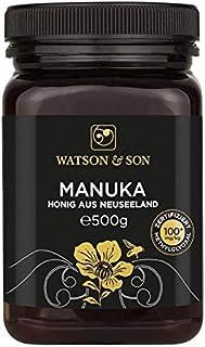Watson & Son Manuka Honig MGO 100 500g Zertifizierte Premium Qualität direkt aus Neuseeland