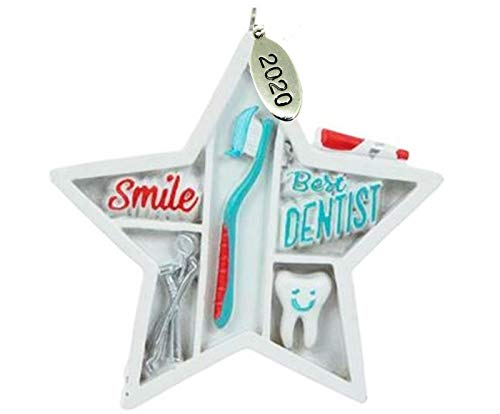 Twisted Anchor Trading Co Dentist Gift - Cool Best Dentist Gift - Dentist Christmas Ornament 2020 - Dentist Graduation Gifts - Comes in A Gift Box