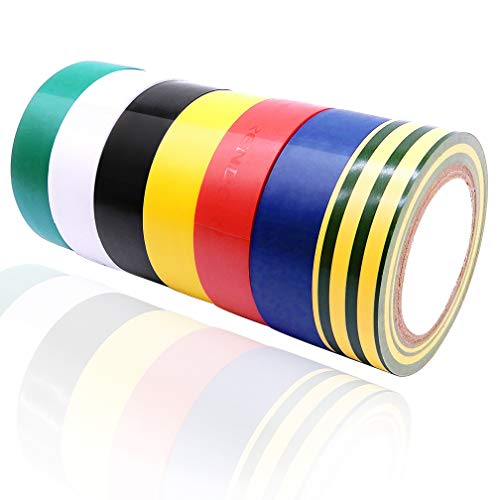 Isolierband/Isolierband, PVC, 17 mm x 9 m, mehrfarbig