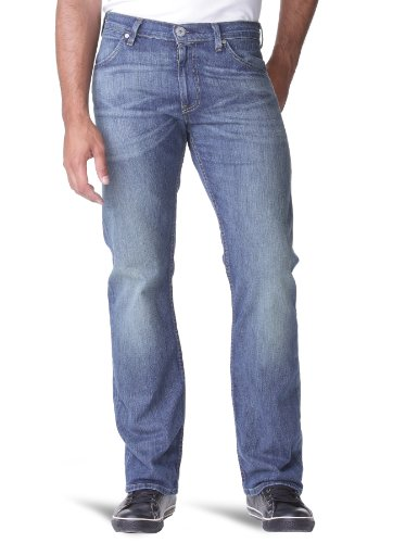 Levi's® Herren Jeans 506 Normaler Bund, 74506, Gr. 33/34, Blau (M Hopeful Blue 0023)