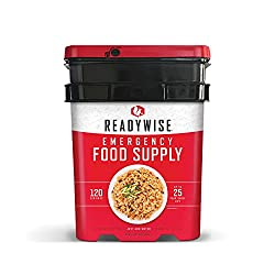Wise Company Emergency Food Supply Freeze-Dried Entree Variety, 120 Servings