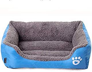 L size Candy Color Square Kennel House Eco-friendly Dog Bed Mat Sofa Pets Beds For Various Dogs Supplies