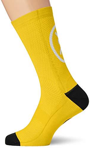 MB WEAR Socks Stelvio Black L//XL Unisex Adulto Negro Medio