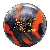 Hammer Raw Bowling Ball- Orange/Black 13lbs (60-106522-933)