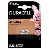 Duracell - Pila especial para dispositivos electrónicos - 357/303 Blister Pequeño x 2
