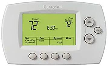 Honeywell Home Wi-Fi 7-Day Programmable Thermostat (RTH6580WF), Requires C Wire, Works with Alexa (Renewed)