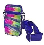 Top Trenz Puffer Cell Bag & pocketbook (original striped Tie dye)
