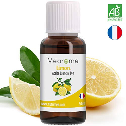 Aceite Esencial De Limón Puro 30 ml Aceite Esencial Aromaterapia Bio Quimitipado Lemon Oil Terapéutico Ideal Humidificador Ultrasónico Aromaterapia Anticaspa