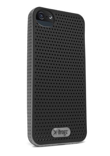 iFrogz Breeze Case for iPhone 5 - Retail Packaging - Black/Silver