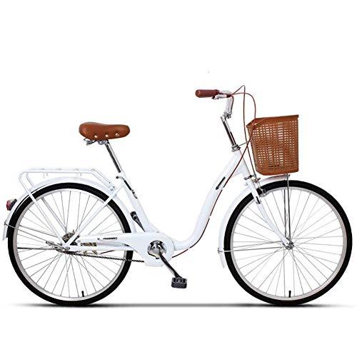 Ti-Fa Bicicleta de Paseo para Mujer Cómoda Bicicleta de Ciudad con una...