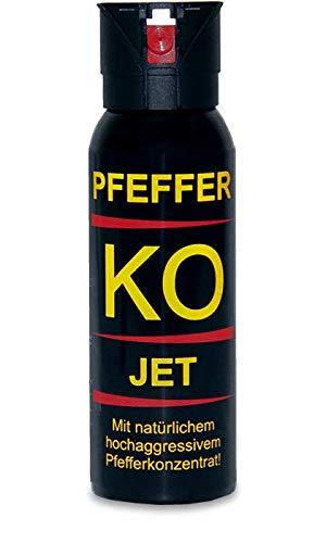 2 Dosen Profi Pfefferspray Ballistol KO-JET 100 ml - Sprühstrahl mit bis zu 5 m Reichweite
