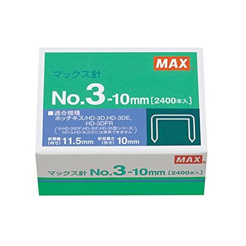 マックス ホッチキス針 No.3-10mm 中型3号 NO.3-10M/M
