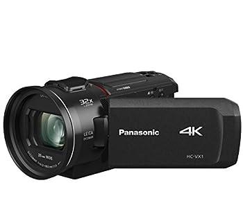 Panasonic PANASONIC HC-VX1 4K Camcorder 24X LEICA DICOMAR Lens 1/2.5  BSI Sensor Three O.I.S Stabilizer Systems HDR Mode Wireless Multi-Camera Capture  USA Black