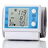 Esfigmomanómetro, Monitor De Presión Arterial De Muñeca Medición De Pulso Y Presión Arterial Completamente Automática, Alta Precisión, Portátil para Uso Doméstico