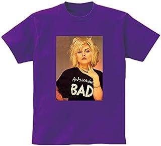 [10色]BANDLINE(バンドライン) Blondie ブロンディ Deborah Harry デボラ ハリー バンド ロック パンク メタル 半袖Tシャツ