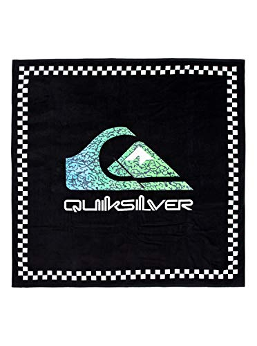 Quiksilver Towel Poncho Beach Supplies, Hombre, Black, 1SZ