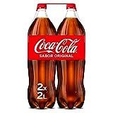 Coca-Cola Sabor Original - Refresco de cola - Pack 2 botellas 2 L