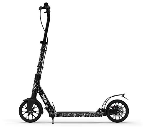 toucan Premium Adult Scooter with Hand Brake Dual Suspension, Hight-Adjustable Urban Scooter |...