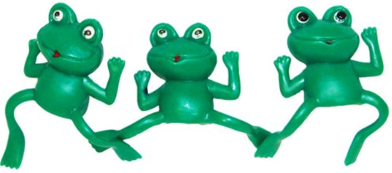 Fun Express Educational Products  Vinyl Frog Finger Puppets (6 dz)  6 Dozen
