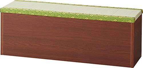 ベンチ 畳ベンチ 椅子 畳収納 内部収納ボックス い草 幅91 奥行30 高さ32.5 おしゃれ ナチュラル シンプル たたみ 畳ユニット ベンチチェスト 和室 洋室 日本製