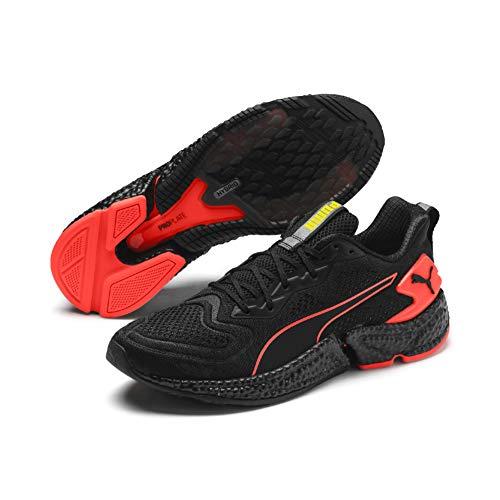 Puma Speed Orbiter, Zapatillas de Running para Hombre, Black Nrgy Red Yellow Alert, 10.5 EU
