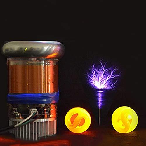 MaxLab 5cm, 10cm Tesla Musik Spule,Tesla Music Coil Blitzgenerator, DIY Wissenschaftsspielzeug,10cm