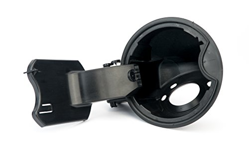 Fuel Filler Door Housing Pocket Assembly - Compatible with Ford, Lincoln...