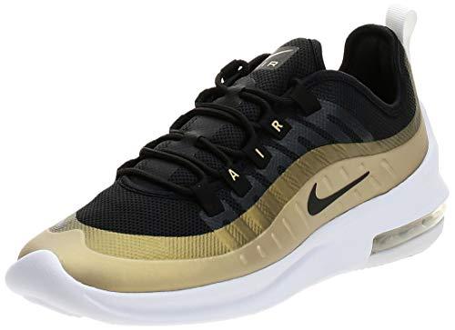 Nike Herren AIR MAX AXIS Leichtathletikschuhe, Mehrfarbig (Black/Black/MTLC Gold Star 11), 44 EU