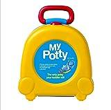 Reisetöpfchen für Babys und Kleinkinder, Kinder Toilette Kindertopf ,Tragbare WC Reise Töpfchen Urinal für Junge und Mädchen, (Gelb)