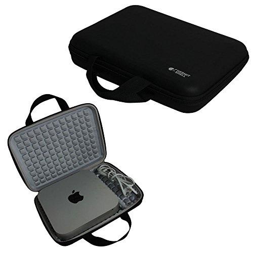 Hermitshell Travel Eva Tasche Schutz hülle Etui Tragetasche Beutel Compact Größen für Apple Mac Mini Desktop PC Computing MGEM2LL/A MGEN2LL/A MGEQ2LL/A