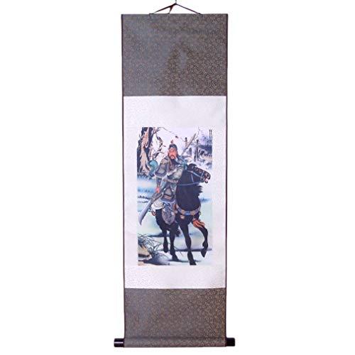 lachineuse Kakemono Asiático Dios Guan Gong - Impresión