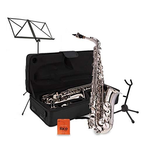 Pack Completo de Saxofón Alto Níquel