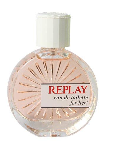 Replay Woman femme / woman, Eau de Toilette, Vaporisateur / Spray 60 ml, 1er Pack (1 x 60 ml)