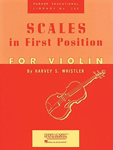 Scales In First Position Violin (Rubank Educational Library)