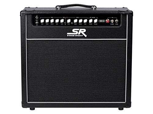 Monoprice Stage Right Series SB12 50-watt All Tube 2-channel 1x12 Guitar Amp Combo (625914)