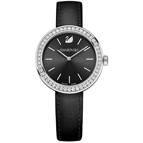 Swarovski Reloj analogico para Mujer de Cuarzo con Correa en Piel 5172176